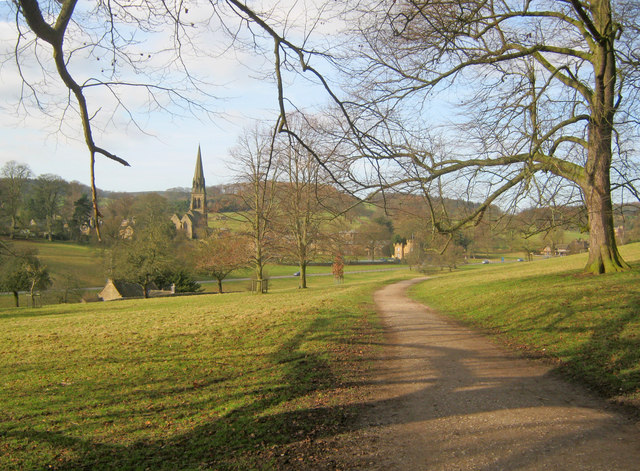 Path to Edensor