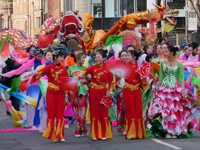 Chinese new year dragon parade princess david dixon for Chinese new years parade