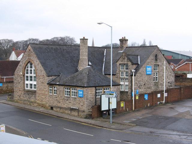 Sutton-in-Ashfield - former Devonshire School