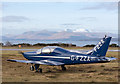 NM9035 : G-FZZA at Oban Airport by TheTurfBurner