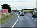 SE4818 : A1 South of Darrington Services by David Dixon