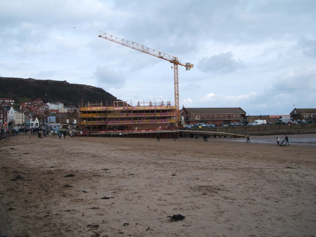 Building Of The New Lifeboat Station Jthomas Cc By