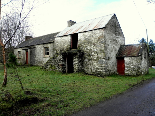 Derelict farmhouse, Binnafreaghan