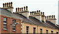 J3473 : Chimneys, Joy Street, Belfast (February 2016) by Albert Bridge