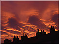 SD4972 : Fiery sky over Warton (2) by Karl and Ali