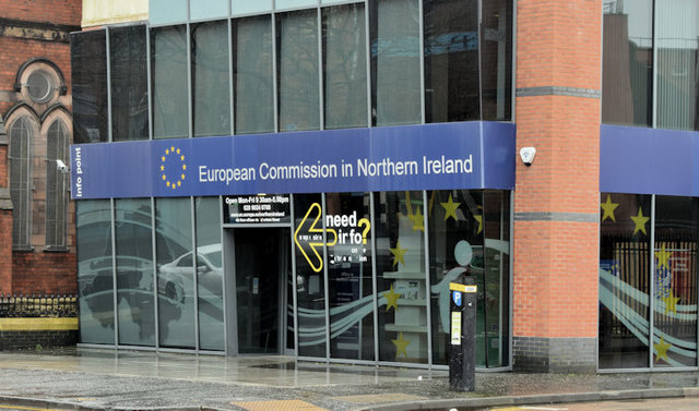 European commission office belfast albert bridge geograph britain and ireland - European commission office ...