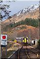NM8981 : Train approaching Glenfinnan station - February 2016 : Week 8