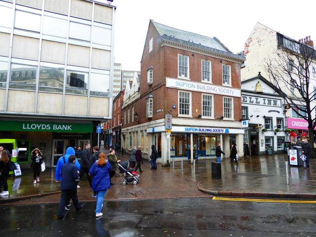 building societies nottingham city centre