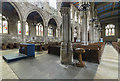 TA0339 : North aisle and nave, St Mary's church, Beverley by J.Hannan-Briggs