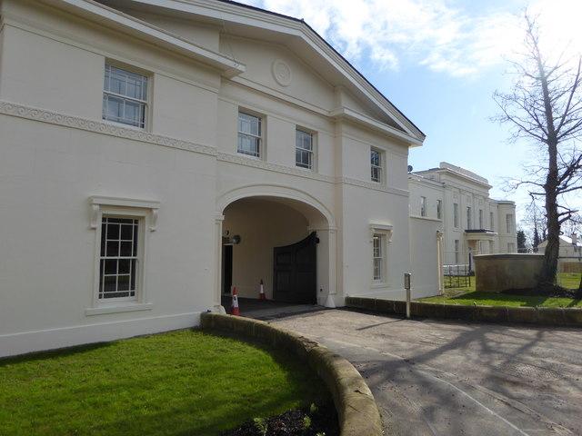 Gateway to Greenbank House