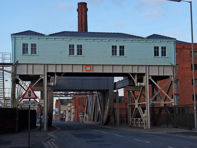 Bascule Bridge, A5036, Liverpool