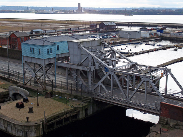 Bascule Bridge, Stanley Dock, Liverpool