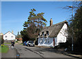 TL5156 : Fulbourn: Apthorpe Street in early March by John Sutton