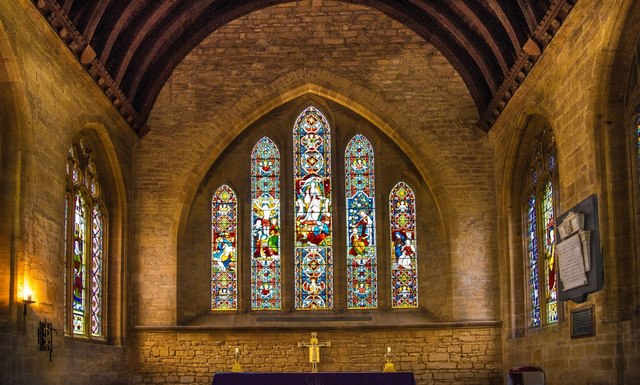 Martock: All Saints Church Altar Window