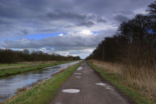 South Drain Shapwick Heath