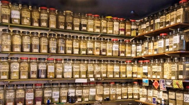 Glastonbury: Fascinating array of herbal remedies