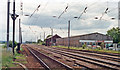 TL1854 : Site of Tempsford station, ECML 1992 by Ben Brooksbank
