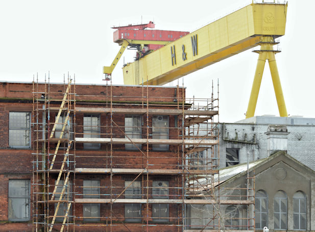 Former Harland & Wolff offices, Belfast - March 2016(1)