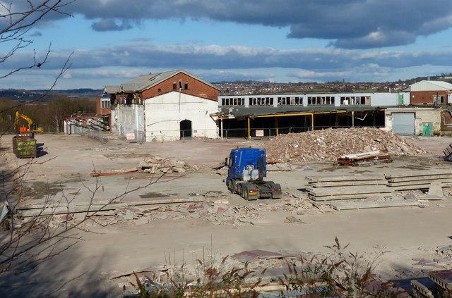 Demolition of the former gardner mat fascione for Gardner website