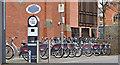J3372 : Belfast Bikes, Botanic Gardens, Belfast (March 2016) by Albert Bridge