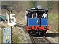 SK2854 : Ecclesbourne Valley Railway - returning from Ravenstor : Week 11