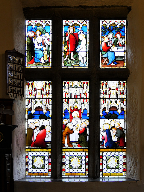 Smithills Chapel, Stained Glass Window