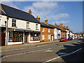 TL1439 : Shefford High Street, north side by Robin Webster