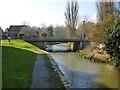 TL1439 : North Bridge and Northbridge Wharf, Shefford by Robin Webster