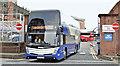 J3373 : Ulsterbus Caetano, Belfast (March 2016) by Albert Bridge
