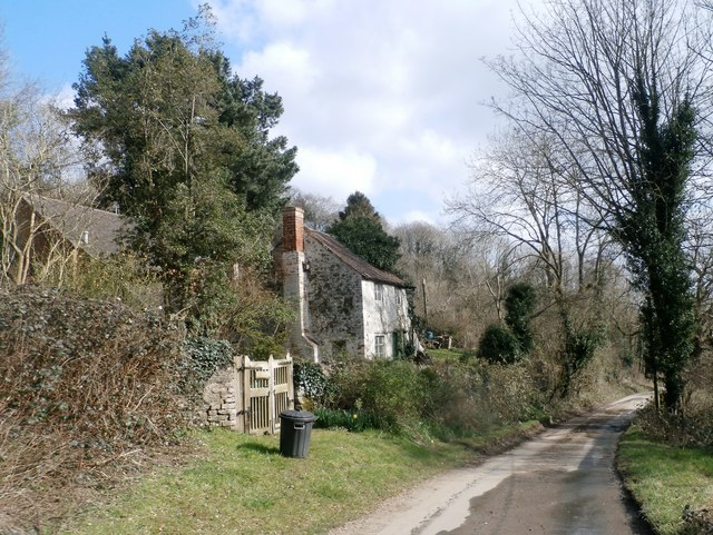 A Cottage at Whiteleaved Oak