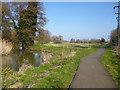 TL1439 : Former course of Ivel Navigation, Shefford by Robin Webster