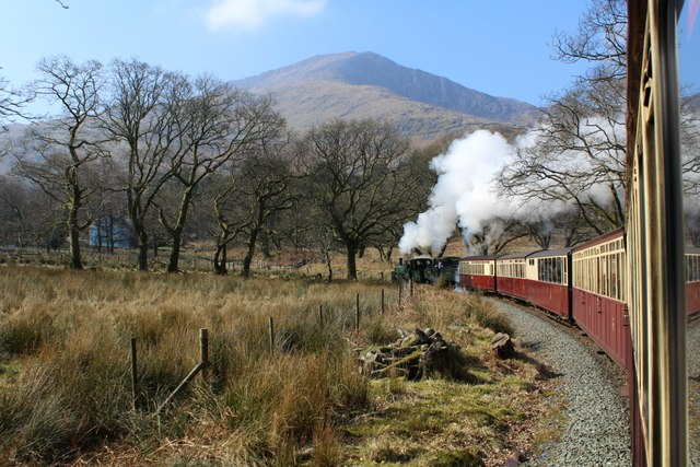 Full steam ahead from Beddgelert