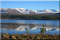 NH9905 : Cairngorm Ski Area from Loch Morlich by Anne Burgess