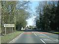 SP9704 : A416 at Ashley Green village boundary by Colin Pyle