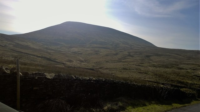 Pendle Hill from Earton Hill