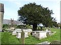 TQ3009 : All Saints Churchyard, Patcham (c) by Basher Eyre