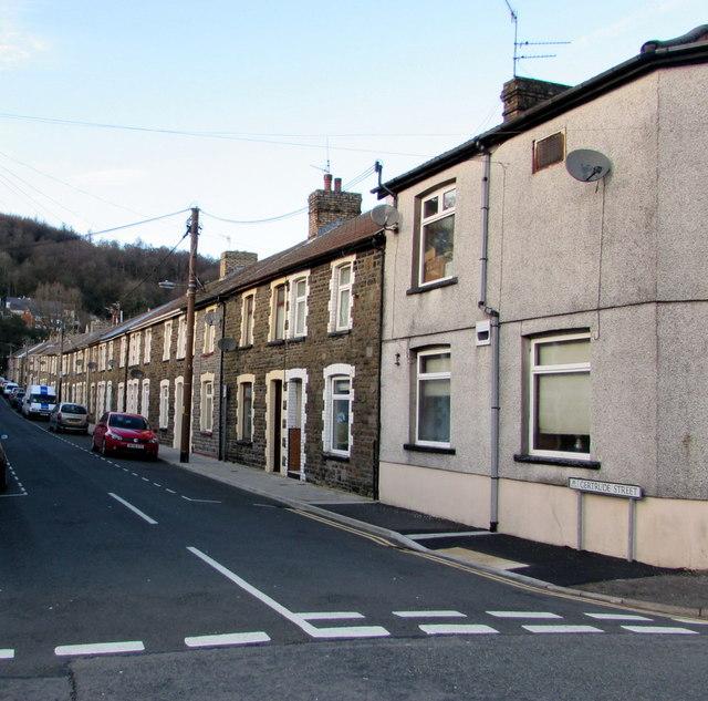 In Abercynon Rhondda Cynon Taf: Gertrude Street, Abercynon © Jaggery :: Geograph Britain