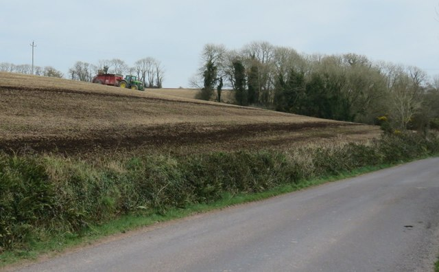 Muck spreading west of Monkstown