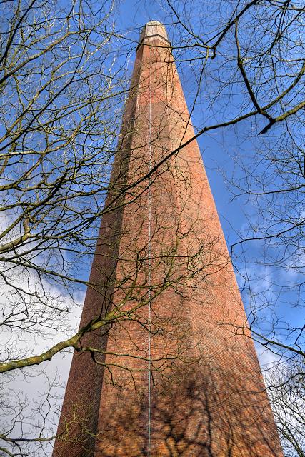 Former Factory Chimney near Barrow Bridge