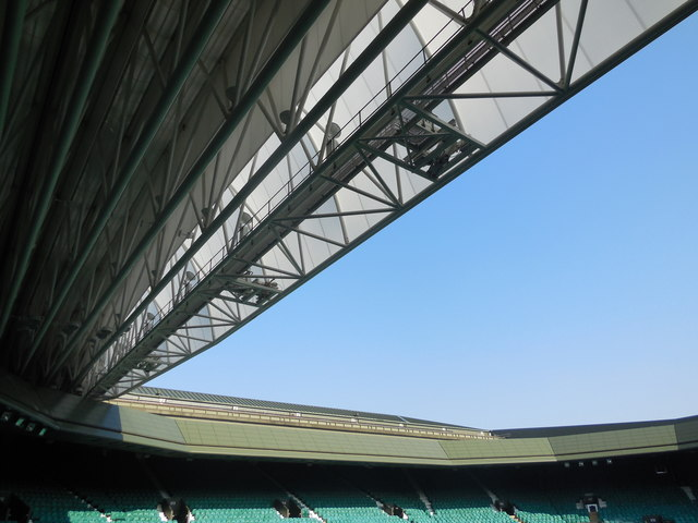 Image result for roof centre court wimbledon