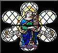 TQ2691 : Christ Church, North Finchley - Stained glass window : Week 11