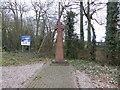 SJ4366 : Celtic Cross, Littleton by Eirian Evans