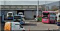 J3373 : Gt Victoria Street bus depot, Belfast (March 2016) by Albert Bridge