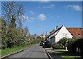 TL2842 : Steeple Morden: on Station Road by John Sutton