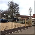 TL1461 : Bassmead Manor by Dave Thompson