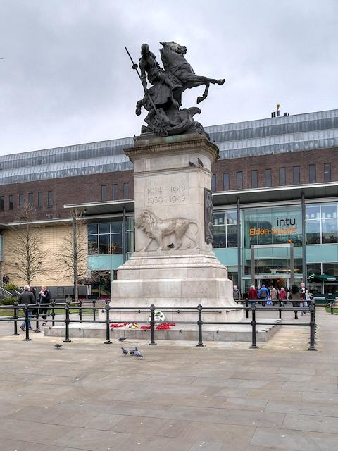 War Memorial, Old Eldon Square
