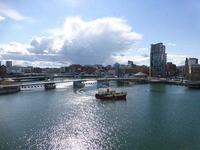 River Lagan, Belfast