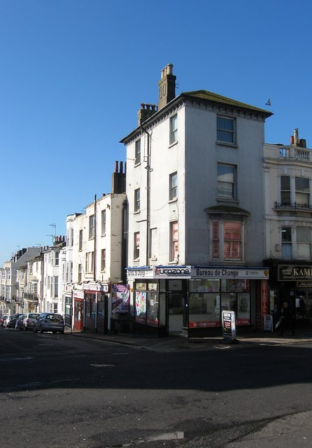 106 western road brighton simon carey geograph britain and ireland. Black Bedroom Furniture Sets. Home Design Ideas