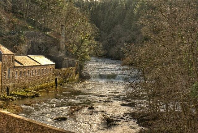 Falls of Clyde, New Lanark