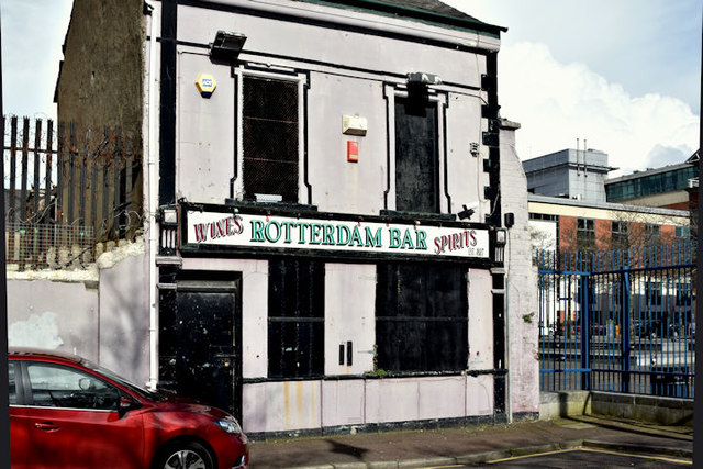 "Former ""Rotterdam Bar"", Belfast (March 2016)"